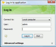Desktopová aplikace